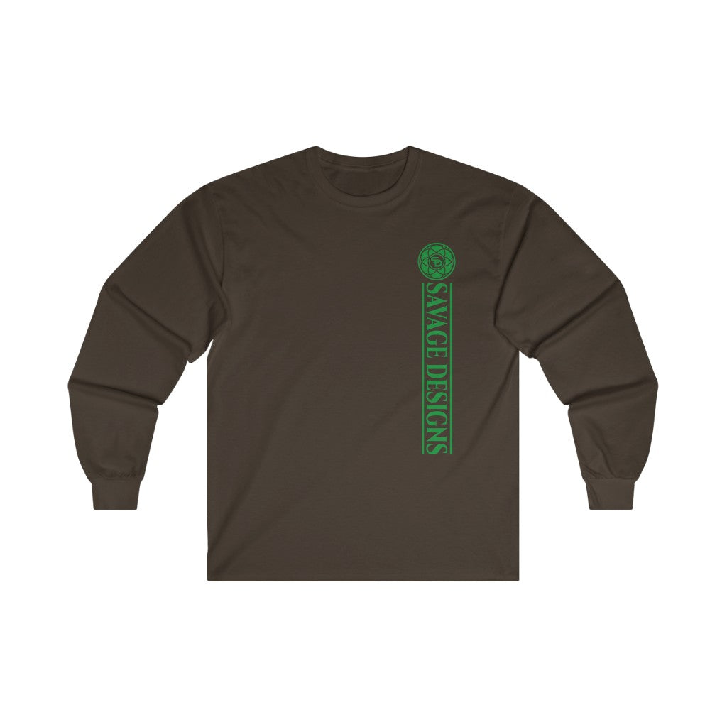 Savage Designs Egyptian Seed of Life Green Long Sleeve- 4 Colors