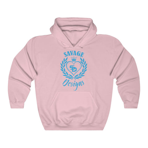Savage Designs Heart of Hearts Turquoise Hoodie- 5 Colors