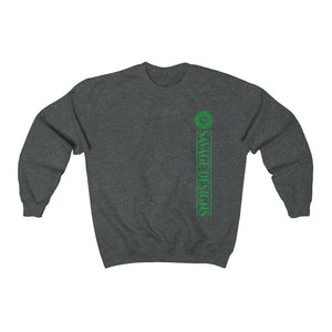 Savage Designs Egyptian Seed of Life Green Sweatshirt- 10 Colors