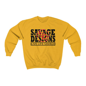 The Savage Within Black/Red Sweatshirt-  3 Colors