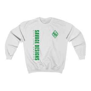 Savage Designs Triple Threat Green Sweatshirt- 10 Colors