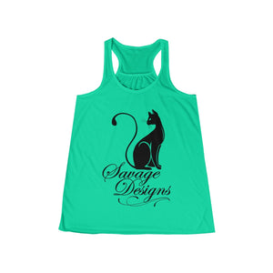 Savage Designs Lady Kitten Black Tank Top- 3 Colors