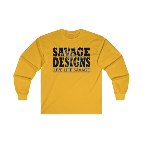 The Savage Within Black/Grey Long Sleeve- 2 Colors