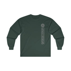 Savage Designs Egyptian Seed of Life Grey Long Sleeve- 4 Colors
