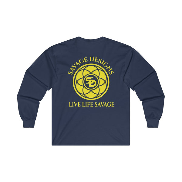 Savage Designs Egyptian Seed of Life Yellow Long Sleeve- 6 Colors