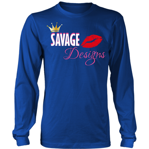 Savage Designs Lil Queen 2 Long Sleeve- 7 Colors