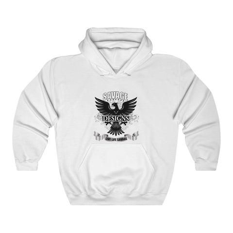 Savage Designs Screeching Falcon Hoodie- 1 Color