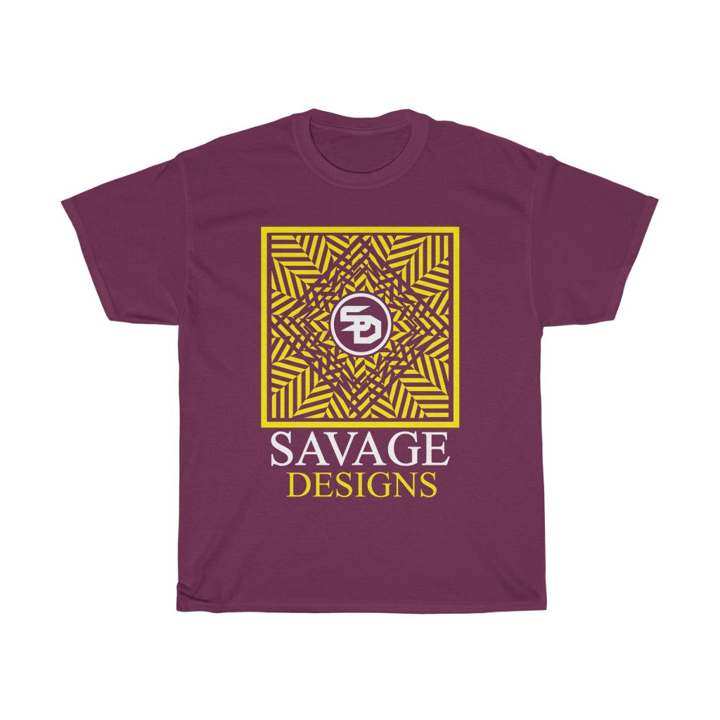 Savage Designs Optical Illusion Yellow/White- 1 Color