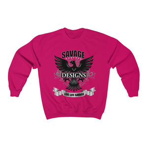 Savage Designs Screeching Falcon Sweatshirt- 2 Colors