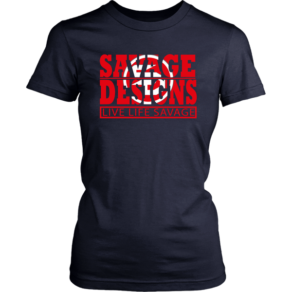 The Savage Within Red/White- 7 Colors