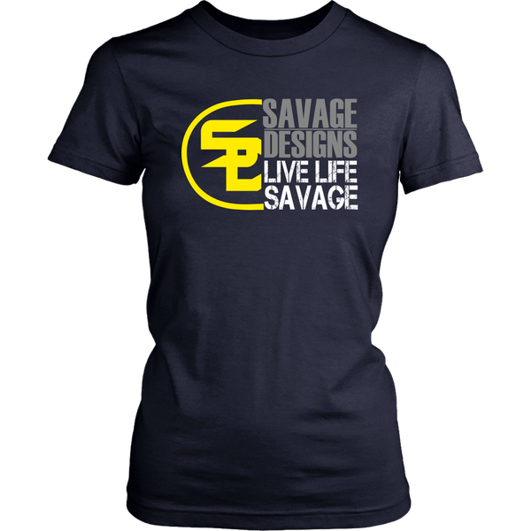 Savage Designs Sliced Up Yellow/Grey/White- 7 Colors