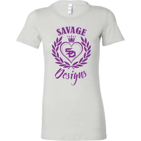 Savage Designs Heart of Hearts Purple- 5 Colors
