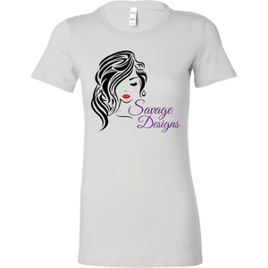 Savage Designs Women's Beauty Black/Red/Purple- 8 Colors