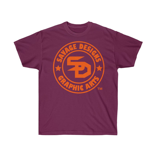 Savage Designs Original Symbol/Live Life Savage Front and Back Print- 3 Colors