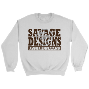 The Savage Within Brown/Grey Sweatshirt- 3 Colors