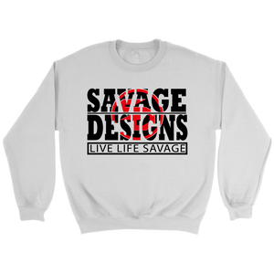 The Savage Within Black/Red Sweatshirt- 7 Colors