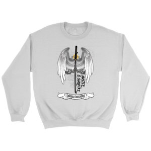 Savage Designs Sword and Angel Wings Long Sleeve- 1 Color