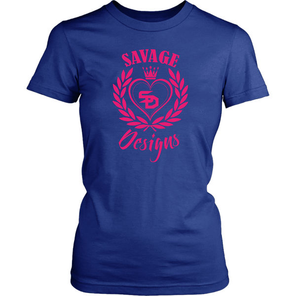 Savage Designs Heart of Hearts Hot Pink- 8 Colors