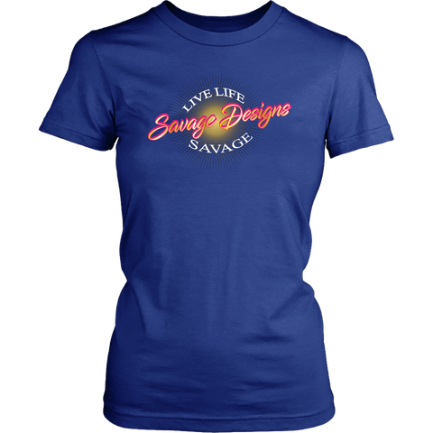 Savage Designs Sunray Flare Hot Pink and Gold- 5 Colors