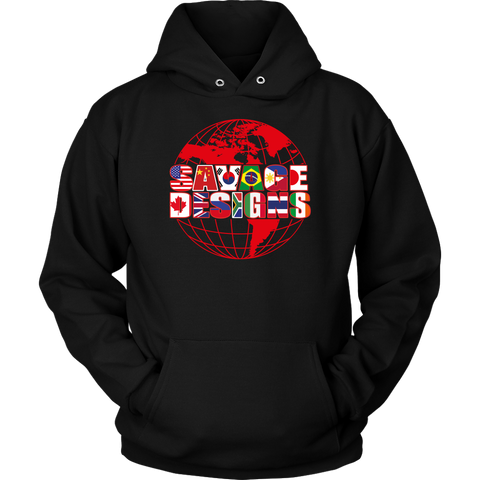 Savage Designs Global Hoodie