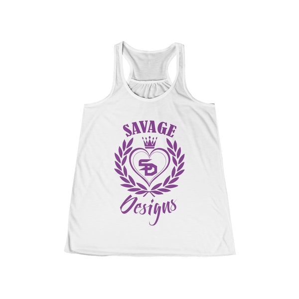 Savage Designs Heart of Hearts Purple Tank Top- 6 Colors