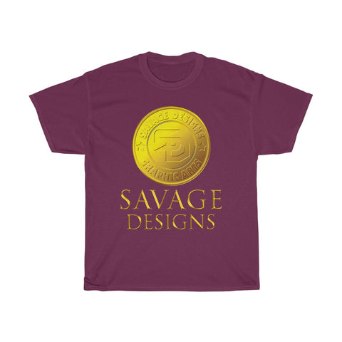 Savage Designs Gold Coin Medallion- 3 Colors