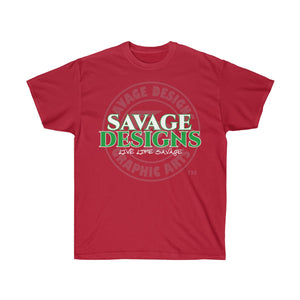 Savage Designs Faded Symbol White/Green/Grey- 3 Colors