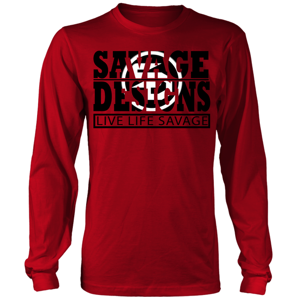 The Savage Within Black/White Long Sleeve- 9 Colors