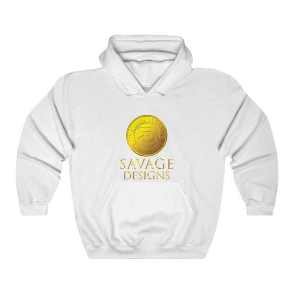 Savage Designs Gold Coin Medallion Hoodie- 2 Colors