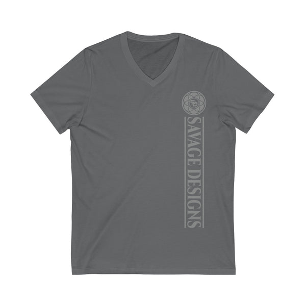 Savage Designs Egyptian Seed of Life Grey V-Neck- 10 Colors