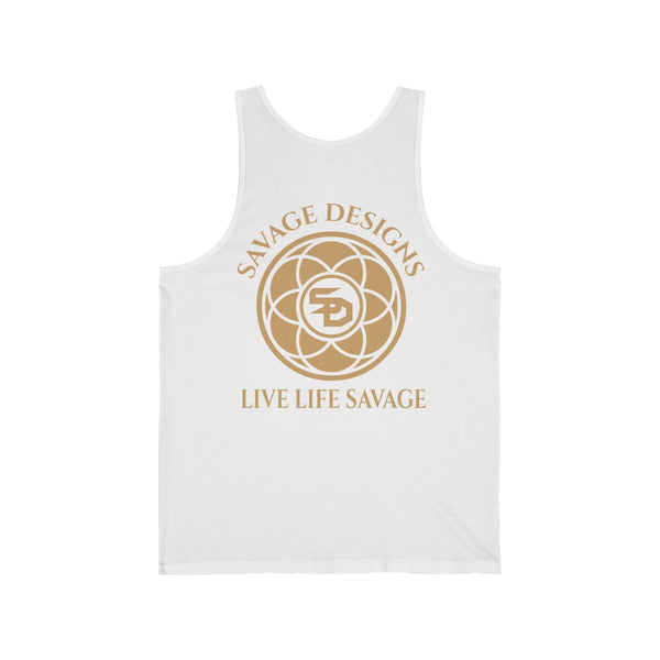 Savage Designs Egyptian Seed of Life Tan Tank Top- 7 Colors