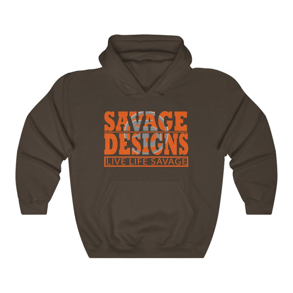 The Savage Within Orange/Grey Hoodie- 3 Colors