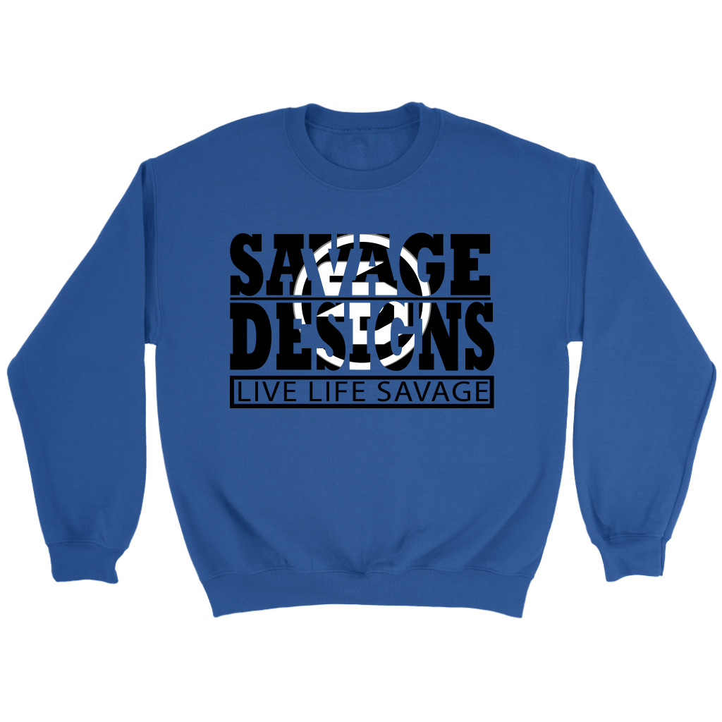 The Savage Within Black/White Sweatshirt- 6 Colors