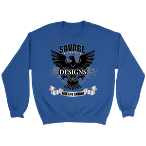 Savage Designs Screeching Falcon Sweatshirt- 3 Colors