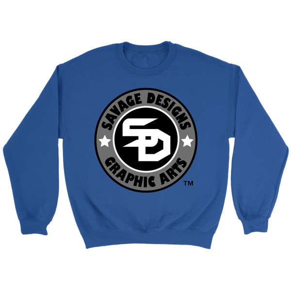 Savage Designs Symbol Patch Original Color Sweatshirt- 9 Colors