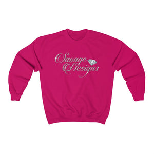 Savage Designs Women's Diamonds Sweatshirt- 3 Colors