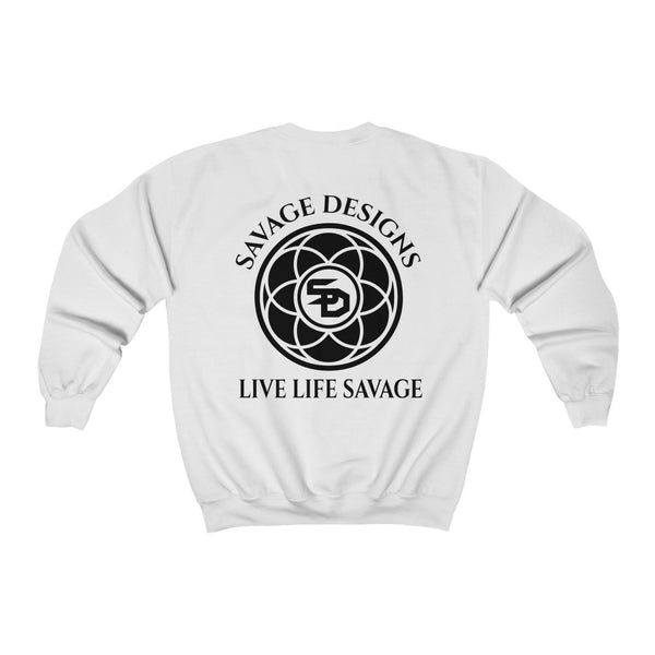 Savage Designs Egyptian Seed of Life Black Sweatshirt- 13 Colors