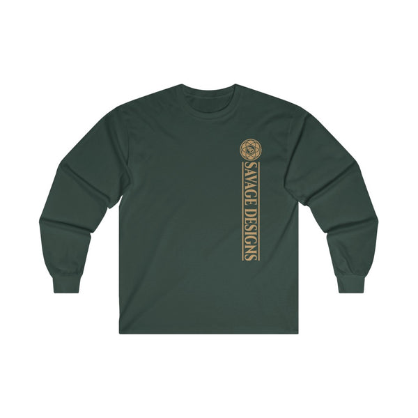 Savage Designs Egyptian Seed of Life Tan Long Sleeve- 4 Colors