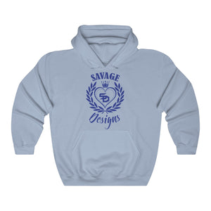Savage Designs Heart of Hearts Royal Blue Hoodie- 8 Colors