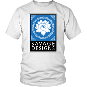 Savage Designs Lotus Flower Turquoise/White/Black- 8 Colors