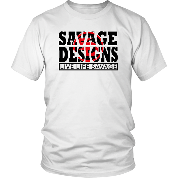 The Savage Within Black/Red- 10 Colors