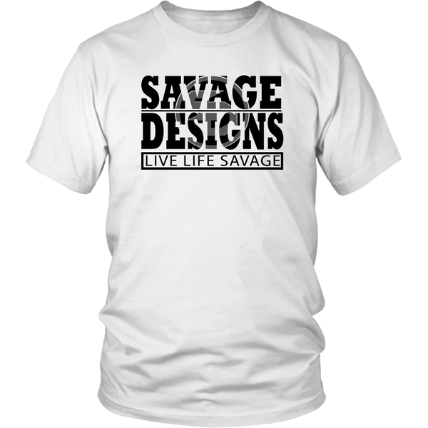 The Savage Within Black/Grey- 9 Colors