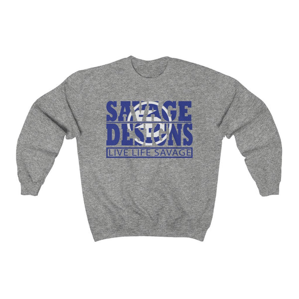 The Savage Within Royal Blue/White Sweatshirt- 5 Colors