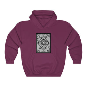 Savage Designs Ace of Spade Black/Grey Hoodie- 3 Colors