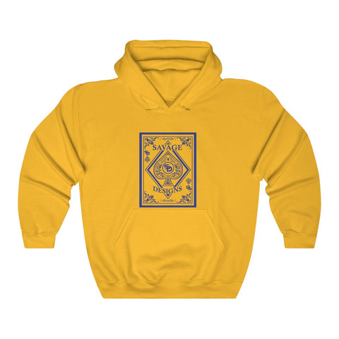 Savage Designs Ace of Spade Royal Blue Hoodie- 3 Colors