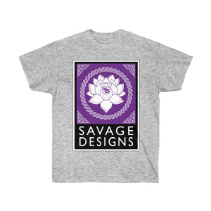 Savage Designs Lotus Flower Purple/White/Black- 4 Colors