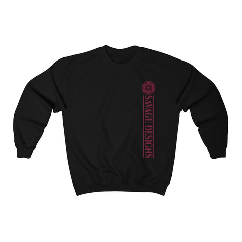 Savage Designs Egyptian Seed of Life Maroon Sweatshirt- 8 Colors