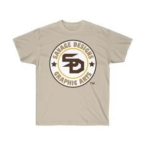 Savage Designs Symbol Patch White/Brown/Tan- 1 Color