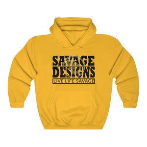 The Savage Within Black/Grey Hoodie- 3 Colors