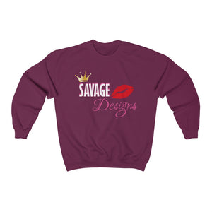 Savage Designs Lil Queen 2 Sweatshirt- 2 Colors